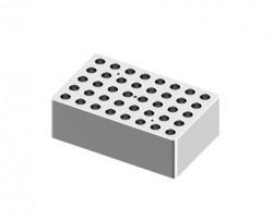 Blokk 40x2,0ml - átm.:11mm, mélység:34,7mm