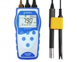 Oldott oxigén mérő optikai szenzorral DO8500