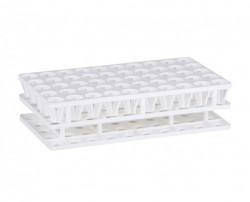 Multistand Plus tesztcső tartó PP 5x10 fh. fehér