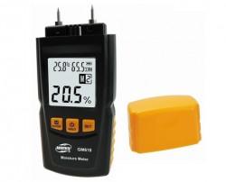 Hordozható digitális fa nedvesség mérő, GM 610